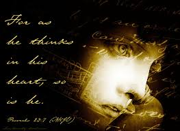 mla citation heart of darkness proverbs 23 7 you are what you think daily verse
