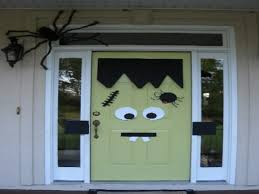 easy halloween decorations for outside best halloween door