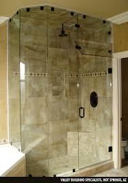 heavy glass shower doors shelter glass inc custom and standard shower and tub enclosure