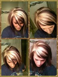 chunking highlights dark hair pictures need this makeup hair pinterest chunky blonde highlights