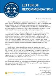 School No Letter Of Recommendation Here Is A Exle Of Nursing Letter Of Recommendation Sle