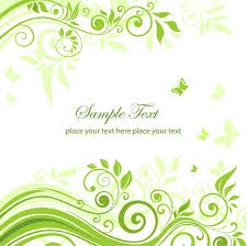 green floral ornament vector graphic free vector graphics all