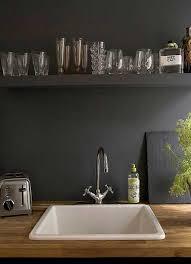 revetement mural cuisine inox revetement mural cuisine inox 14 cr233dence en peinture noir dans