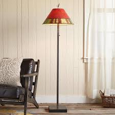 iron u0026 wood floor lamp robert redford u0027s sundance catalog