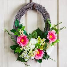 faux florals decor decorative wreaths myevergreen