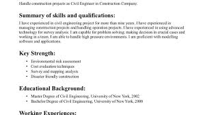 Sample Resume For Experienced Civil Engineer by Senior Engineering Technician Resume Samples Mechanical