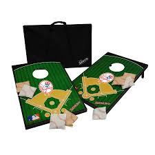 shop wild sports new york yankees outdoor corn hole party game at