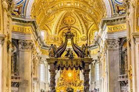 baldacchino by bernini s basilica bernini baldacchino holy spirit dove