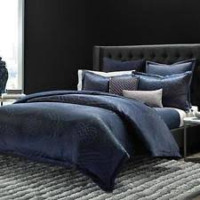 Navy Quilted Coverlet Roxbury Park 1485 Navy Quilted 300tc Blanket Coverlet Bedding King