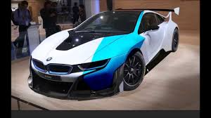 Bmw I8 Front - bmw i8 gt3 concept front youtube