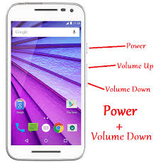 how to take a screenshot on a android how to take a screenshot in a moto g3 quora