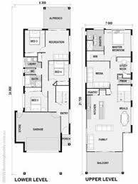 narrow two story house plans google search dream house