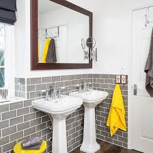 yellow tile bathroom ideas bathroom ideas to make the most of bright colours ideal home