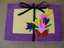 How To Make Origami Greeting Cards - origami how to make an origami birthday card origami card
