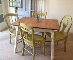 kitchen cool cafe table country french dining chairs oak padded