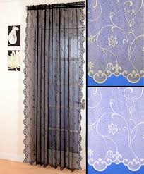 Bird Lace Curtains Panel Net Curtains Centerfordemocracy Org