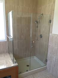 tempered glass shower door shower u0026 tub enclosures ne glass and mirrorne glass and mirror