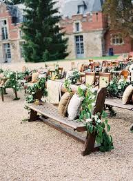 wedding ceremony seating toned lush outdoor ceremony seating storyboard wedding