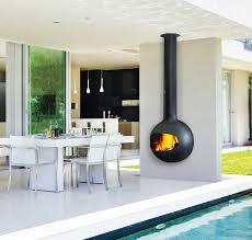 open fireplace focus