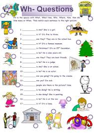 Esl Homonyms Worksheet 50 Free Esl Wh Questions Worksheets