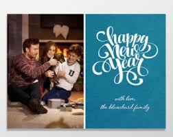 custom new year cards custom belated cards new years cards