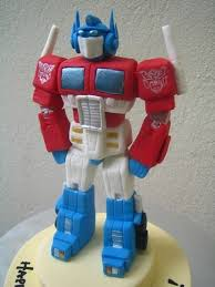 optimus prime cake topper image result for optimus prime cake gumpaste tutorials templates