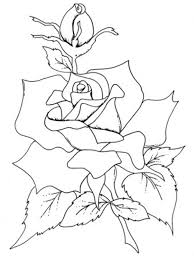 coloring pages of roses and flowers roses flowers coloring pages flower coloring pages of