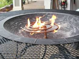 How To Build A Gas Firepit How To Build Your Own Gas Pit Autour