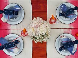 Fourth Of July Tablecloths by Table Linen Styles For Tablecloths Napkins And Runners Hgtv