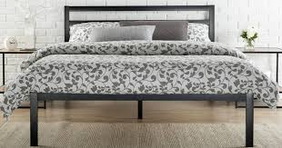 Platform Metal Bed Frame Walmart Platform Metal Bed Frame W Headboard Starting At