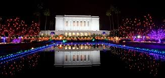 mormon temple festival of lights mesa mormon temple christmas lights and concerts 2016
