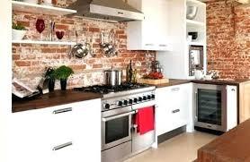 faux brick kitchen backsplash kitchen backsplash brick pizzle me