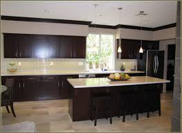 light maple kitchen cabinets awesome espresso kitchen cabinets and backsplash 111 espresso