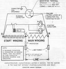 capacitor start run motor wiring diagram saleexpert me