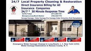 long beach ny county water damage restoration water extraction pump out long beach ny