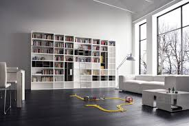 White Book Shelves by Awesome Modern Home Library Design With White Bookcase And