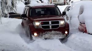 dodge nitro 2016 dodge nitro in snow youtube