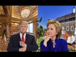 Inside Donald Trump S House Donald Trump Vs Hillary Clinton U0027s House Tour 2017 Youtube