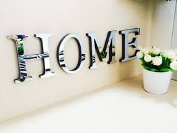 home decor letters wall decor letters decorating ideas mirrored letters wall decor