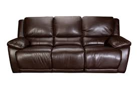 creed leather power reclining sofa
