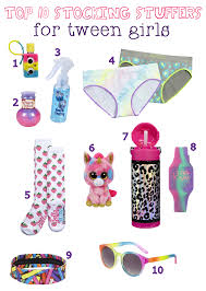 top 10 holiday stocking stuffers for tween girls justicewishes
