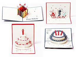 amazon com 3d pop up happy birthday gift greeting cards for kids