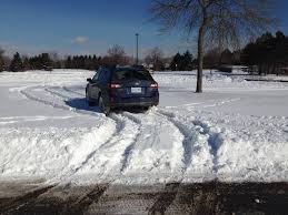subaru drift snow how good is a subaru in the snow autoguide com news