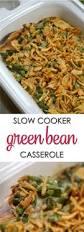 crockpot green bean casserole easy crockpot recipe it is a keeper