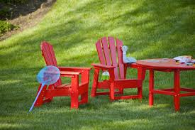 Outdoor Plastic Chairs Exterior Inspiring Outdoor Furniture Design Ideas With Polywood