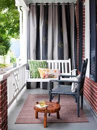 Curtain Place Before U0026 After A Pretty Front Porch Outdoor Curtains Porches
