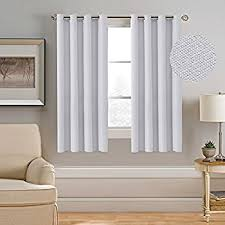 Thermal Window Drapes Amazon Com Balichun 2 Panels Blackout Curtains Thermal Insulated