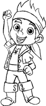 jake the leader of never land pirates coloring page kids play