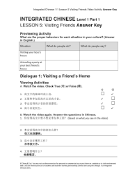 integrated chinese level 1 part 1 cheng u0026 tsui docmia