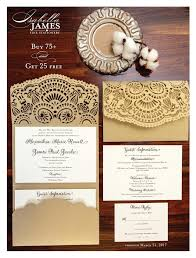 wedding invitation sle two promotions wedding invitations more sale